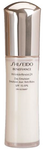 Shiseido Benefiance Wrinkle Resist 24 Day Emulsion SPF15