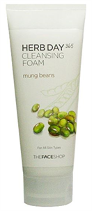 Thefaceshop Herb Day 365 Cleansing Foam - Mung Beans