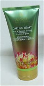 April Bath & Shower Darling Heart Pear & Blossom Scented