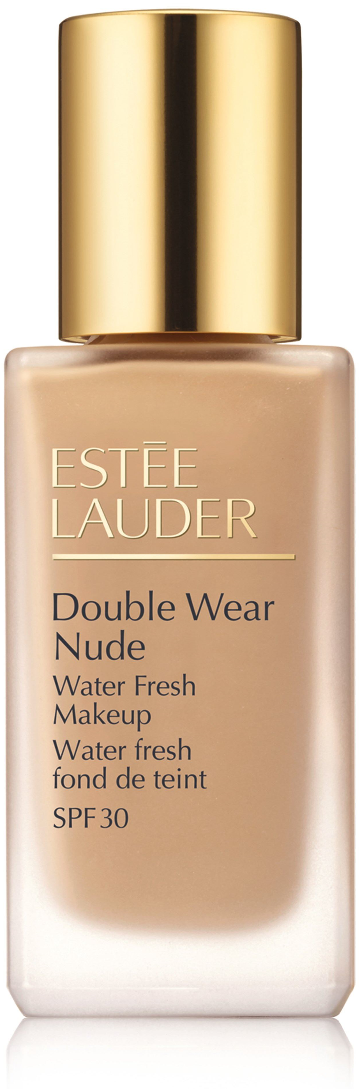 Estee lauder, double wear, nude water fresh makeup, lekki