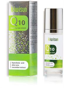 KiwiSun Q10 Cooling Eye Cream Szemkörnyék Ápoló