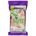 Libero Baby Care Hand & Face Wipes Kéz és Arctörlő