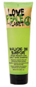 Tigi Love Peace and the Planet Walking On Sunshine Sampon