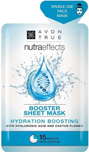 Avon Nutra Effects Booster Sheet Mask Hyaluronnal