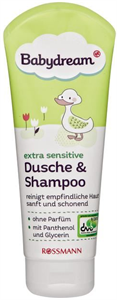 Babydream Extra Sensitive Dusche & Shampoo