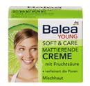 Balea Young Soft & Care Mattító Arckrém Gyümölcssavval (régi)
