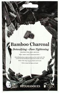 Vitamasques Bamboo Charcoal Sheet Face Mask