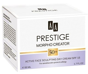 AA Prestige Morpho Creator 50+ Aktív Arcszobrász Nappali Krém SPF15