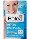 Balea Aqua Hidratáló Szövet-Arcmaszk Alga Kivonattal Vízhiányos Bőrre (régi)