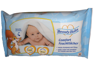 Beauty Baby Komfort Nedves Törlőkendő