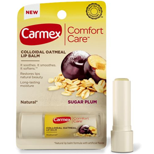 Carmex Comfort Care Colloidal Oatmeal Lip Balm - Sugar Plum