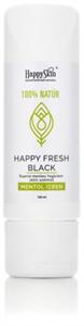 HappySkin Happyfresh Black Fluorid Mentes Fogkrém Aktív Szénnel