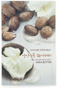 Nature Republic Real Nature Mask Sheet - Shea Butter