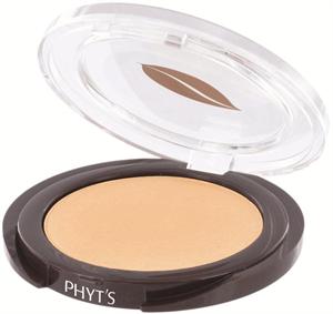 PHYT'S Poudre Satin Beige - Mattító bio kompakt púder