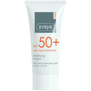 Ziaja Med SPF50+ Matifying Cream