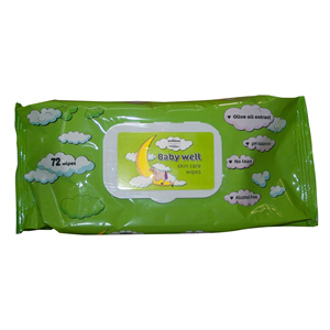 Baby Well Skin Care Wipes