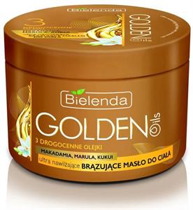 Bielenda Golden Oils Makadámia, Marula és Kukui Testvaj