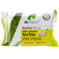 dr. Organic Teafa Nedves Törlőkendő