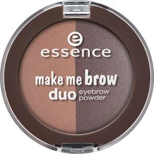Essence Make Me Brow Duo Szemöldökformázó Por