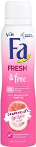 Fa Fresh & Free Grapefruit-Lychee Deo Spray