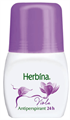 Herbina Viola Roll-On 24h Golyós Deo