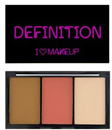 I Heart Makeup I Heart Definition Kontúr Paletta