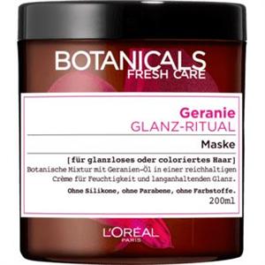 L'Oréal Botanicals Fresh Care Geranium Radiance Remedy Hajmaszk Fakó, Festett Hajra