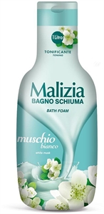 Malizia Bagno Schiuma Muschio Bianco (White Musk) Habfürdő