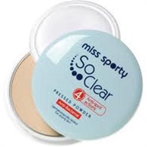 Miss Sporty So Clear Antibakteriális Púder (régi)
