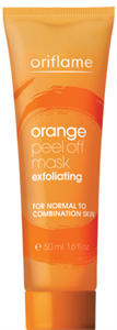 Oriflame Orange Peel Off Mask Exfoliating Maszk