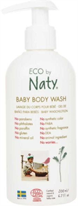 Eco By Naty Természetes Babafürdető Aloe Verával