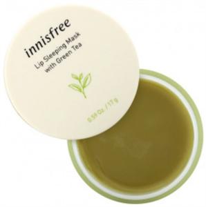 Innisfree Lip Sleeping Mask With Green Tea Éjszakai Ajakmaszk