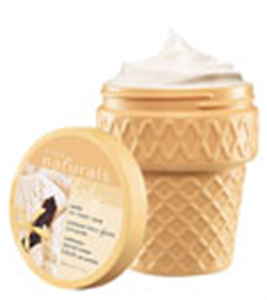 Avon Naturals Vanilla Ice Cream Scrub