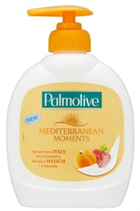 Palmolive Mediterranean Moments Folyékony Szappan Eper- és Sárgabarack Kivonattal