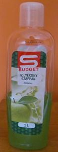 S Budget Folyékony Szappan Zöldalma