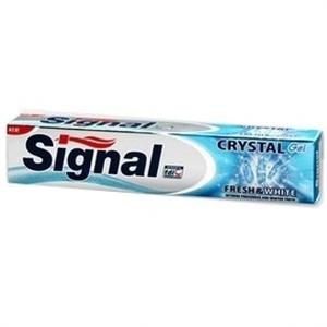 Signal Crystal Gel Fresh & White Fogkrém