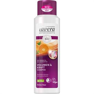 Lavera Volumen és Erő Sampon Narancs-Zöld Tea