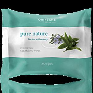 Oriflame Pure Nature Arctisztító Kendő Teafával és Rozmaringgal