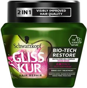 Schwarzkopf Gliss Kur Bio-Tech Restore Hajpakolás