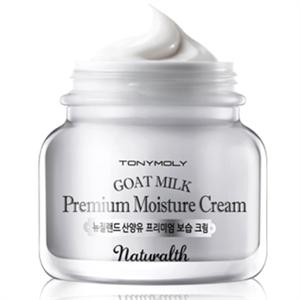 Tonymoly Naturalth Goat Milk Premium Moisture Cream