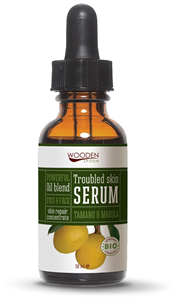 Wooden Spoon Arcápoló Szérum - Problémás Bőrre