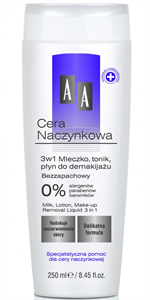 AA Dilated Capillaries Arclemosó Tej, Tonik és Szemfestéklemosó 3in1