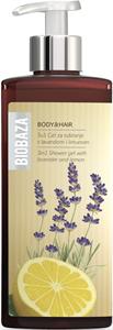 Biobaza 3 az 1-ben Tusfürdő Gél - Levendula és Citrom
