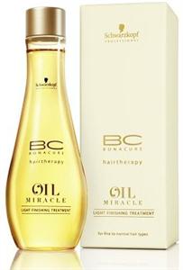Schwarzkopf Bonacure Oil Miracle Hajkúra Finom és Lesimuló Hajra