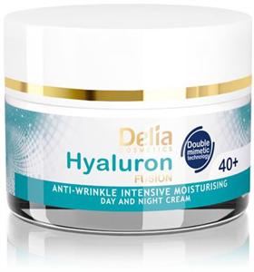 Delia 40+ Nappali és Éjszakai Ránctalanító, Intenzíven Hidratáló Arckrém