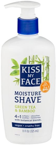 Kiss My Face Moisture Shave Green Tea & Bamboo