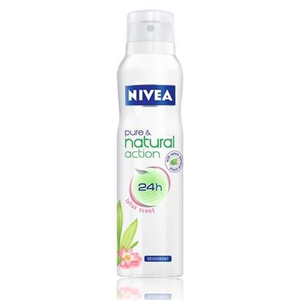 Nivea Pure & Natural Action 24H Lotus Fragrance Deodorant