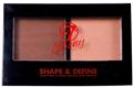 W7 Ebony Shape & Define Sculpting & Highlighting Face Powder