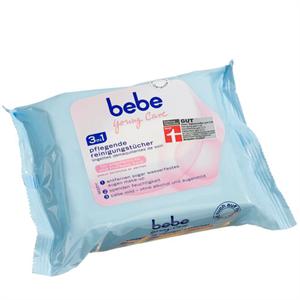 bebe Young Care 3in1 Ápló Arctisztító Kendő Érzékeny és Száraz Bőrre