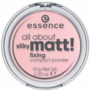Essence All About Silky Matt Fixing Compact Púder